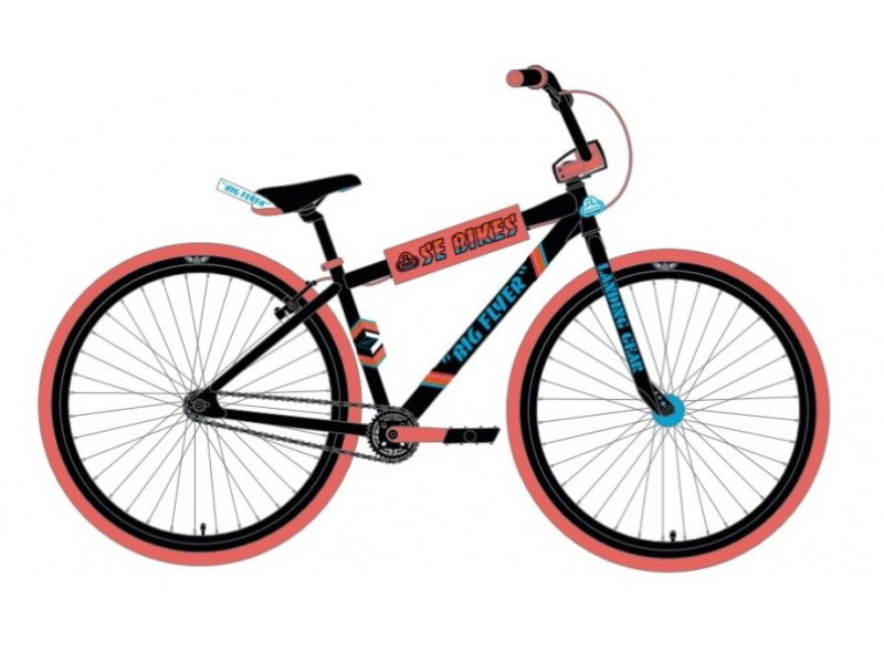 SE Bikes Big Flyer 29 2020 Black