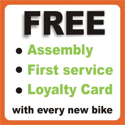 Free with every bike